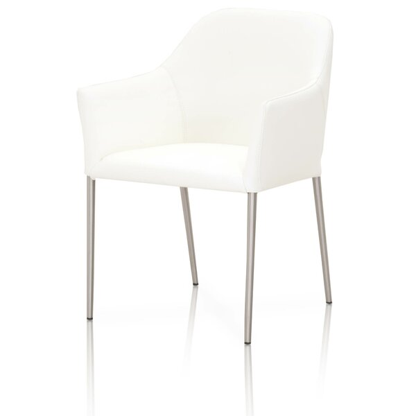 Suresh Genuine Leather Upholstered Dining Chair by Orren Ellis