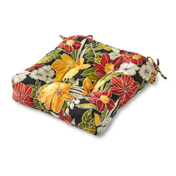 Alla Indoor/Outdoor Dining Chair Cushion by Zipcode Design