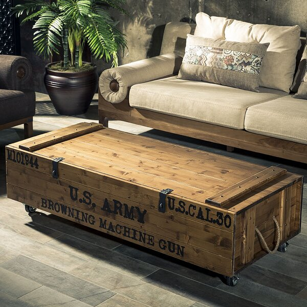 Hasse Coffee Table with Storage by 17 Stories