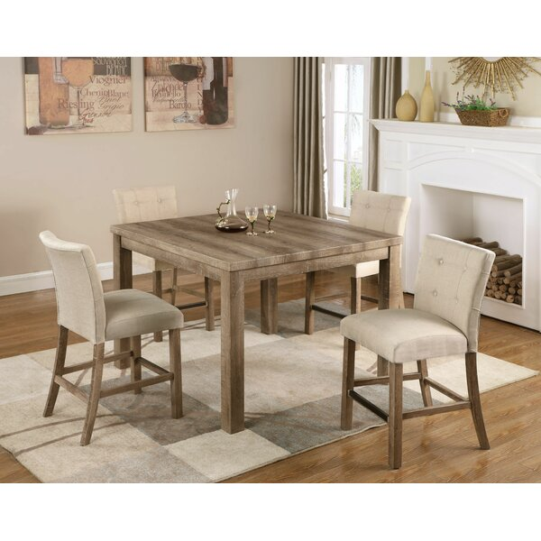 Crewellwalk 5 Piece Counter Height Dining Set By Ophelia & Co.