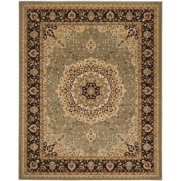 Majesty Sage/Brown Area Rug by Safavieh