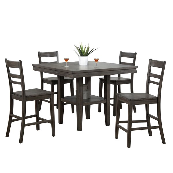 Middlebury 5 Piece Pub Table Set by Red Barrel Studio