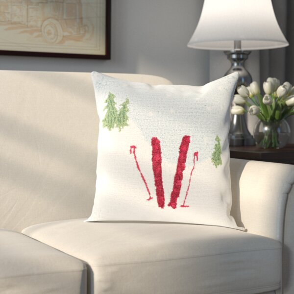 Broadcommon Winter Pillow Cover by Three Posts