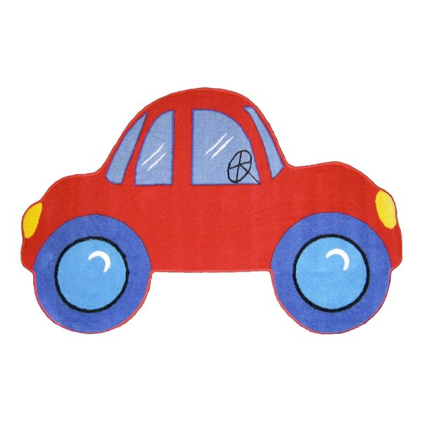 Fun Shape Medium Pile Car Area Rug by Fun Rugs