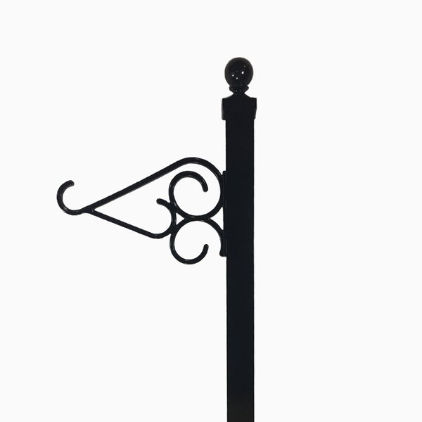 Single Hook Hanger for an Aluminum Fence Wall Line Post by Tru-Scapes Deck Lighting