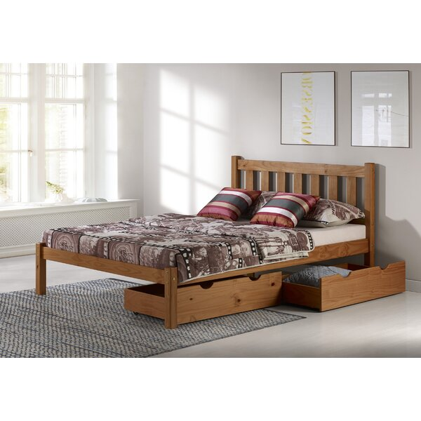 Ratcliff Platform Bed with Storage Drawers by Alcott Hill