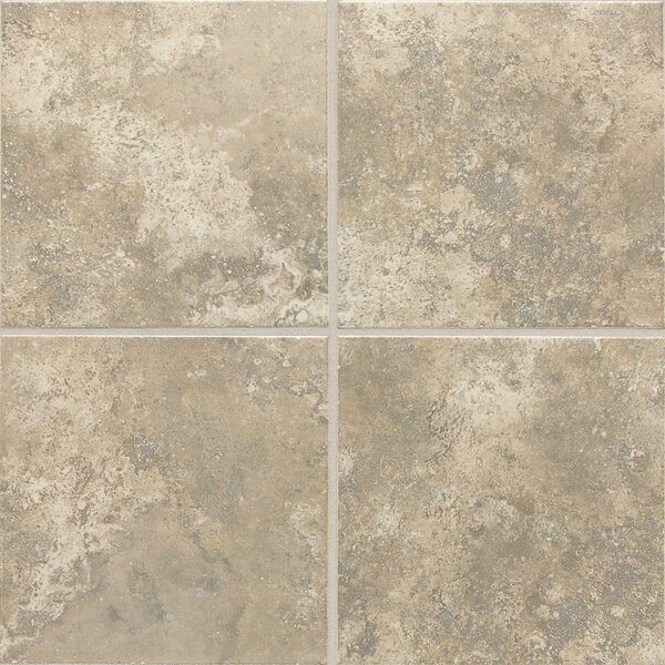 Remington 12 x 12 Ceramic Tile in Dorian Grey by Itona Tile