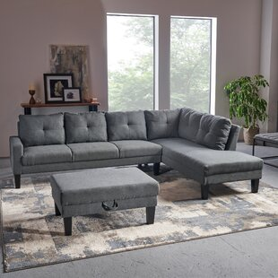 Elodia Sectional with Ottoman