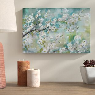 U0027Cherry Blossoms IIu0027 Print On Wrapped Canvas