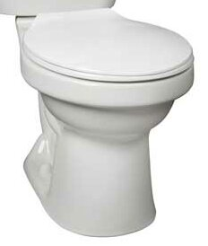 Cascade 1.28 GPF Round Toilet Bowl by Mansfield Plumbing Products