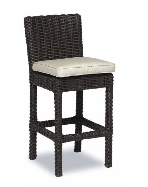 Cardiff 26 Patio Bar Stool with Cushion by Sunset West