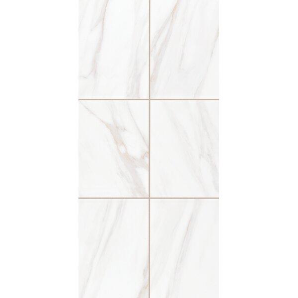 Bradwell 12 x 24 Ceramic Field Tile in Bianco Cararra by Mohawk Flooring