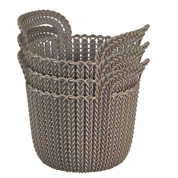 Curver Plastic Basket (Set of 3) by Keter