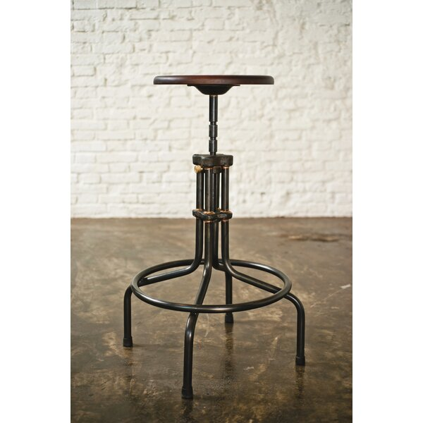 Adjustable Height Bar Stool by District Eight Design