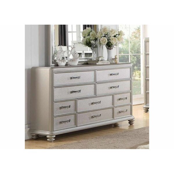 Berend 10 Drawer Double Dresser by Rosdorf Park