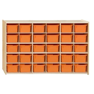 Buy luxury 30 Compartment Cubby with Trays ByWood Designs