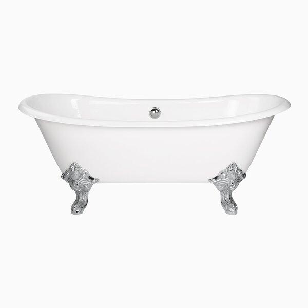 Katharine 71 x 31 Freestanding Soaking Bathtub by Maykke