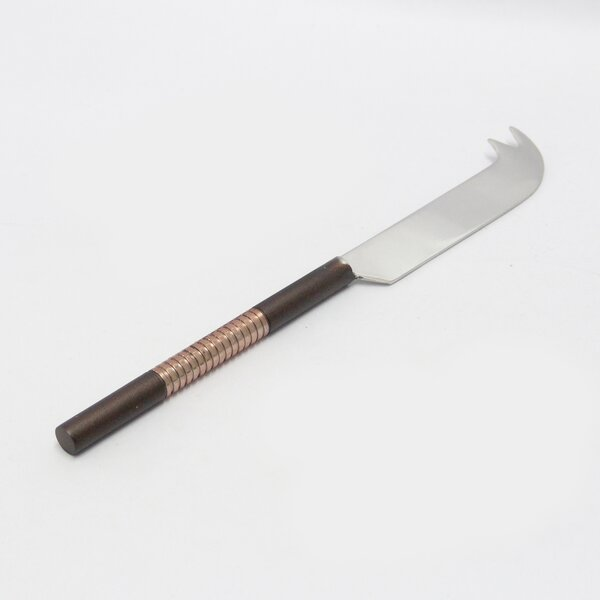 5 Two Tone Nickel Cheese Knife by NU Steel