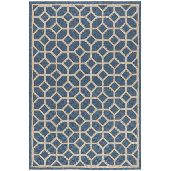Cosper Blue/Cream Area Rug by Corrigan Studio
