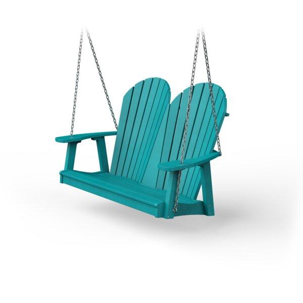 Poly Adirondack Porch Swing by YardCraft