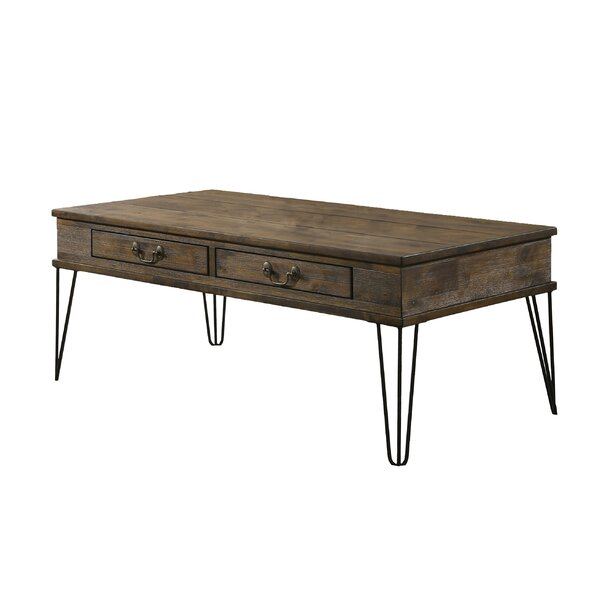 Musser Coffee Table with Storage by Union Rustic Union Rustic