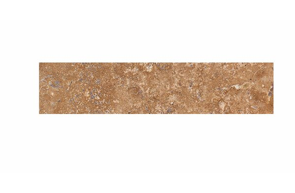 4 x 18 Travertine Field Tile in Walnut Honed by Parvatile