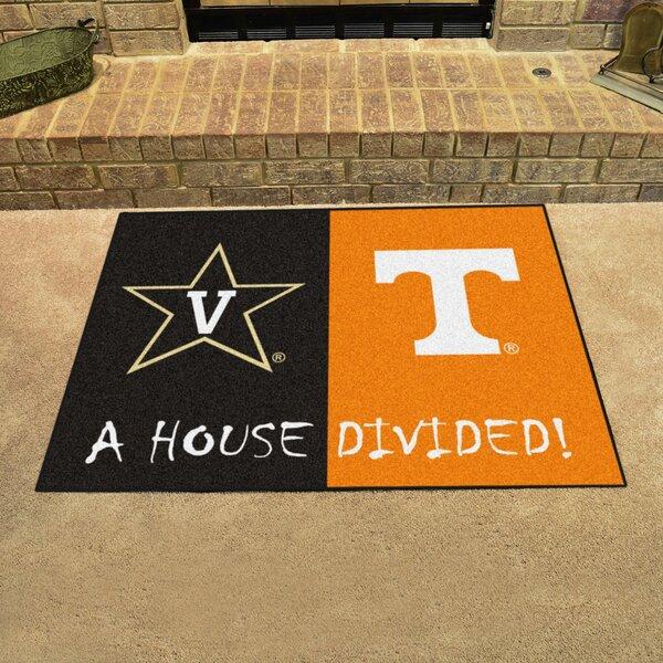 House Divided - Vanderbilt / Tenneessee Doormat by FANMATS