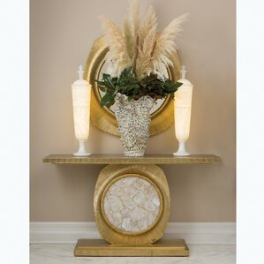 Opera Fluted Console Table by Global Views