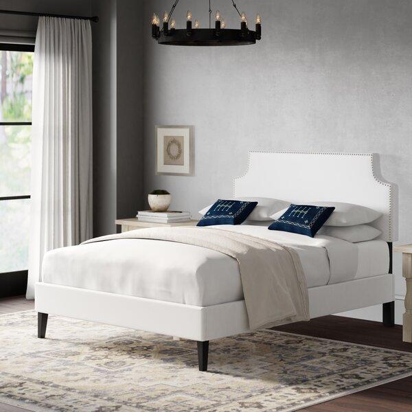 Portis Upholstered Platform Bed by Andover Mills
