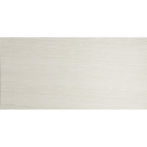 Austin 18 x 36 Porcelain Wood Look Tile in Bianco by Itona Tile
