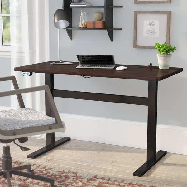 Overby Electric Standing Desk by Rebrilliant