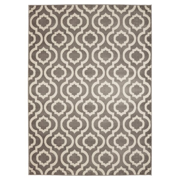 Buchan Grey/Ivory Area Rug by Charlton Home
