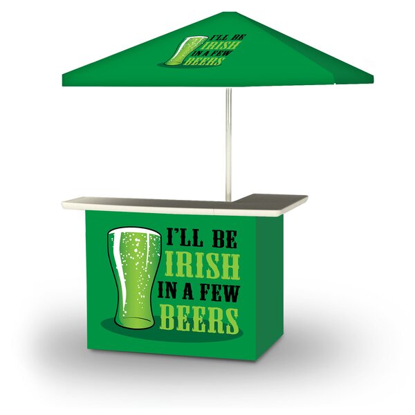 Xavie St Patricks Day Irish Beers 2-Piece Home Bar Set by East Urban Home
