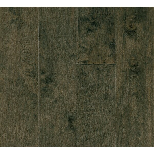 5 Engineered Maple Hardwood Flooring in Silver Shade by Armstrong Flooring