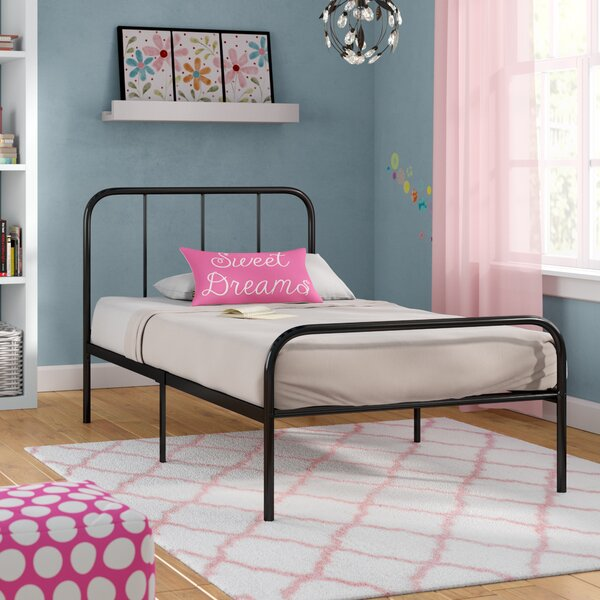 Appalachian Twin Platform Bed by Harriet Bee