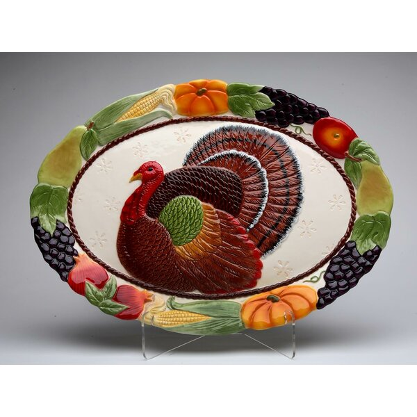 Turkey Platter by The Holiday Aisle