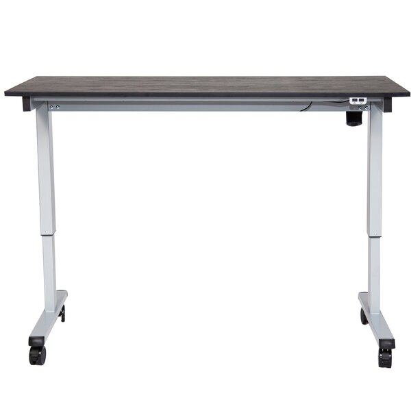 Awesome Siemens Height Adjustable Standing Desk By Symple Stuff Andrewgaddart Wooden Chair Designs For Living Room Andrewgaddartcom
