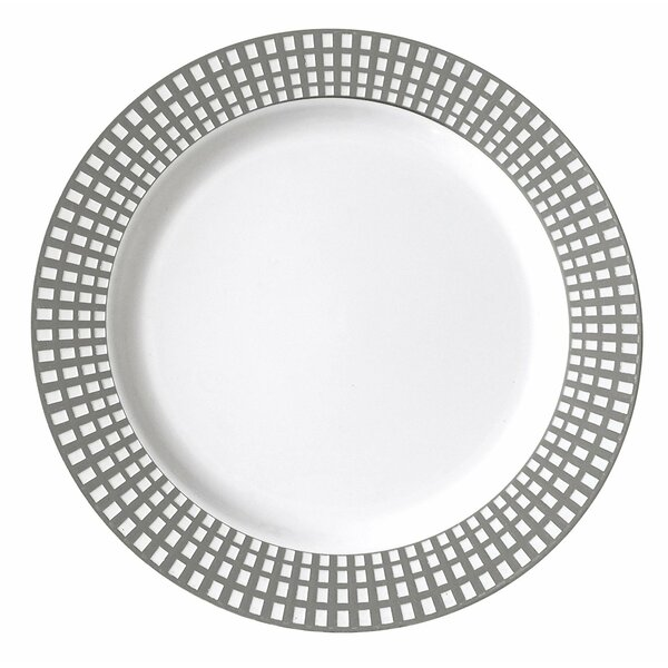 Classic Venice I Can T Believe Its Plastic 10 Dinner Plate Set Of 50 By Table To Go.
