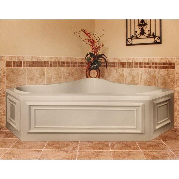 Designer Erica 60 x 60 Whirlpool Bathtub by Hydro Systems