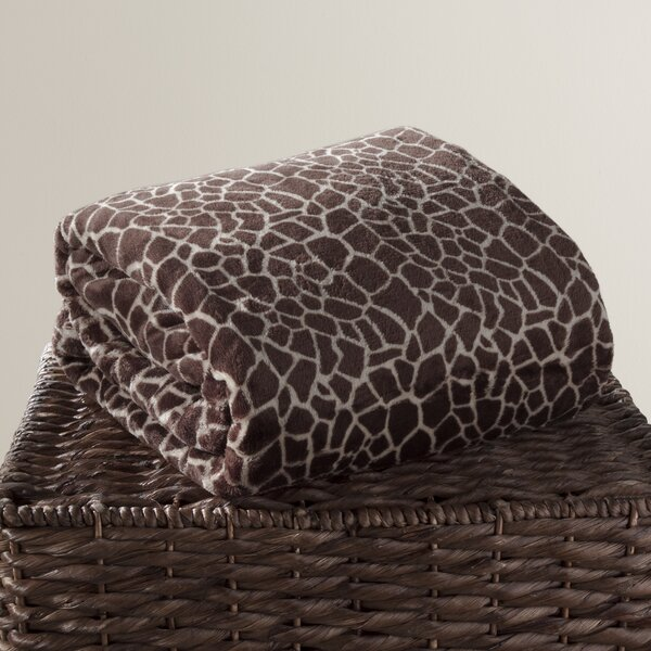 Animal Print Throw by Elite Home Products (Bedding)