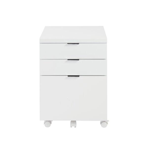 Mcgrady 3 Drawer Mobile Backert Filing Cabinet by Wade Logan