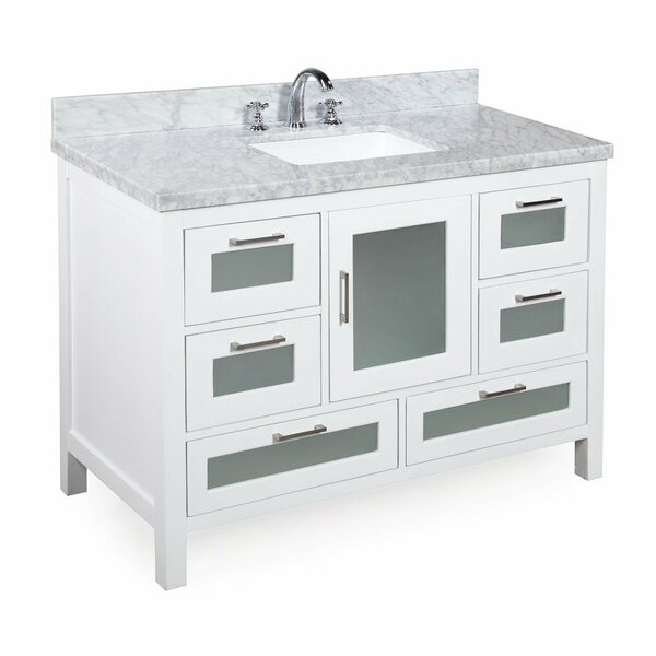 Manhattan 48 Single Bathroom Vanity Set by Kitchen Bath Collection