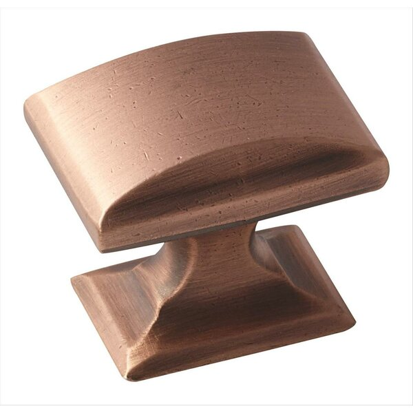 Candler Rectangle Novelty Knob by Amerock