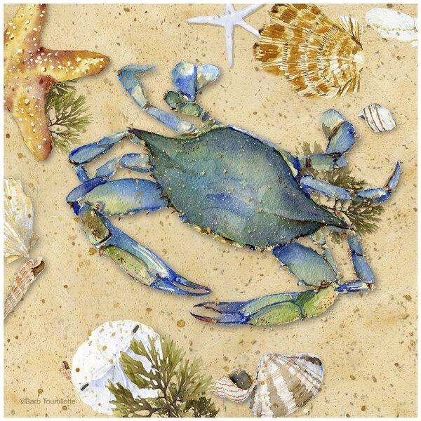 Crab II Occasions Trivet by Thirstystone