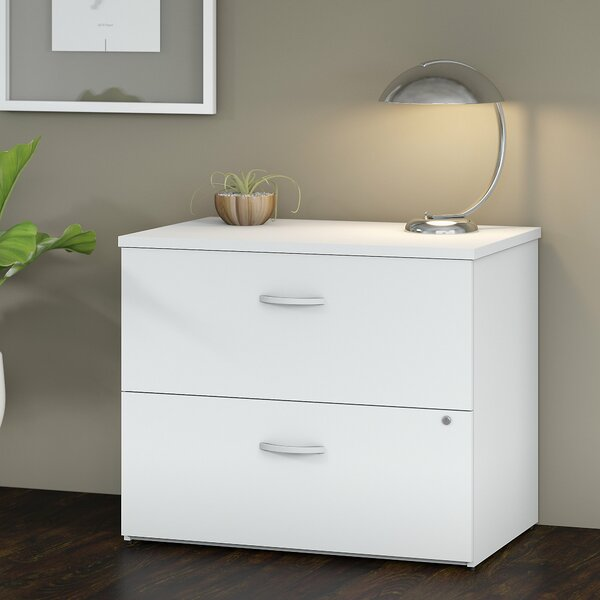 Studio C 2-Drawer Lateral Filing Cabinet by Bush Business Furniture
