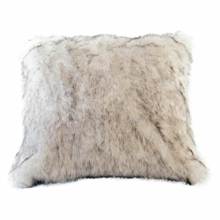 Posh Pelts Arctic Fox Faux Fur Pillow Cover Amp Reviews