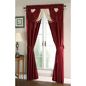 Weinman Window Treatment Solid Blackout Rod Pocket Curtain Panels (Set of 2)