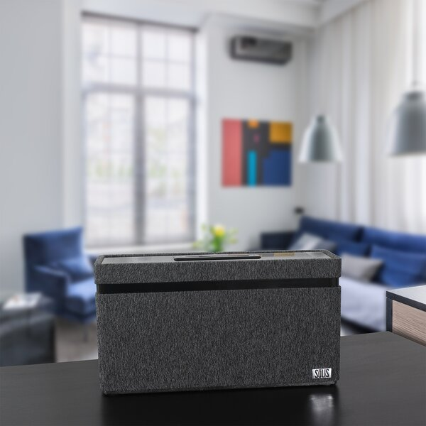 Bluetooth Wi-Fi Wireless Stereo Smart Speaker with