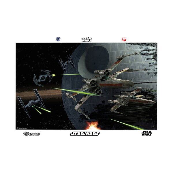 Star Wars Space Battle Wall Mural by Fathead