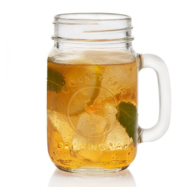 County Fair 16.5 oz. Mason Jar (Set of 12) by Libb